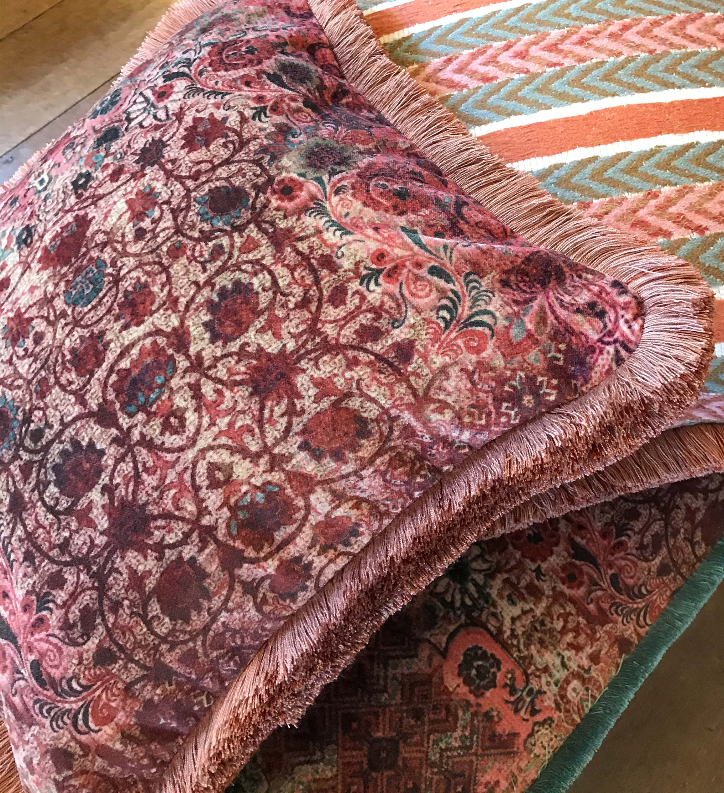 Olivia Velvet Cushion