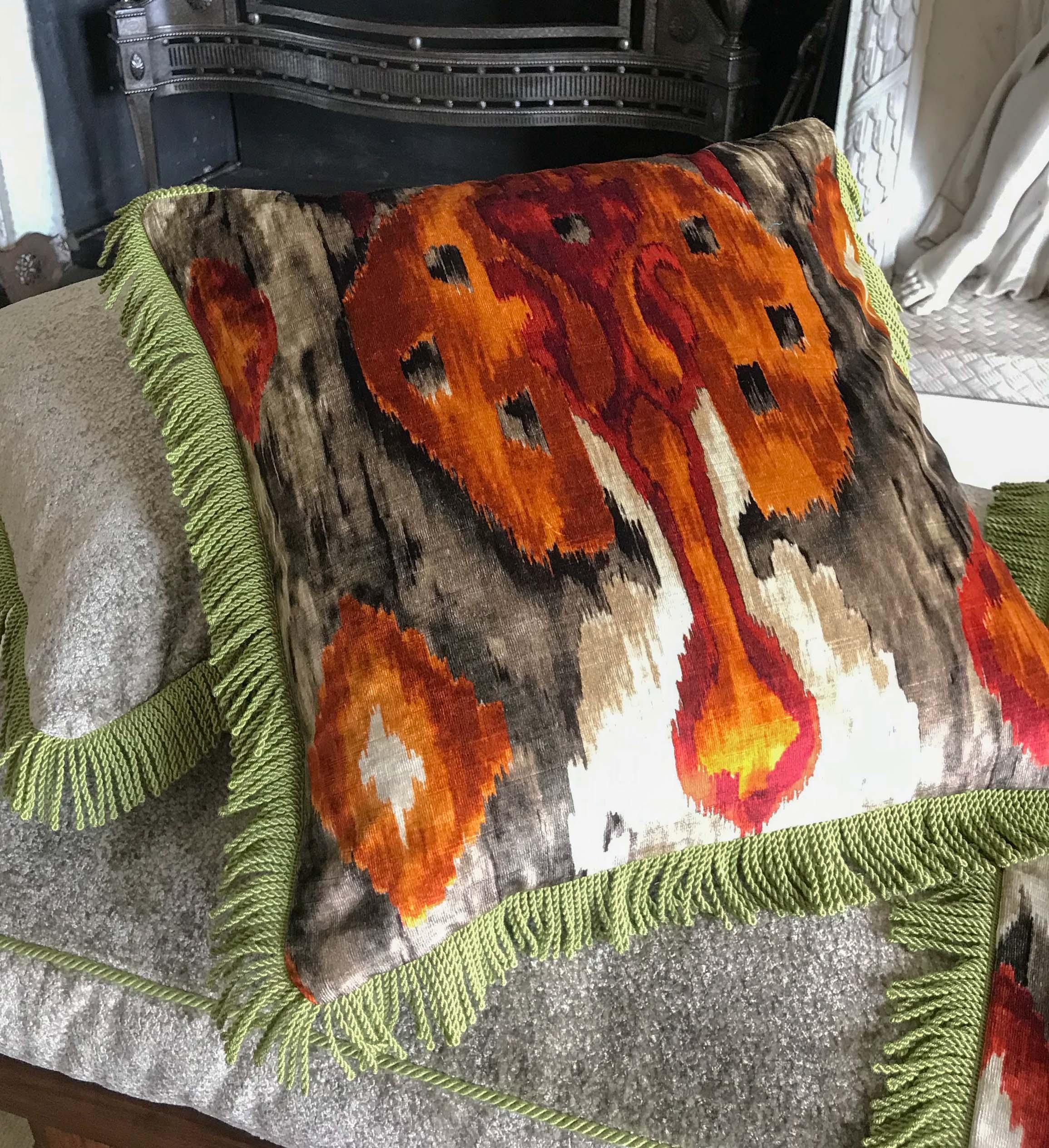 Layla Ikat Cushion