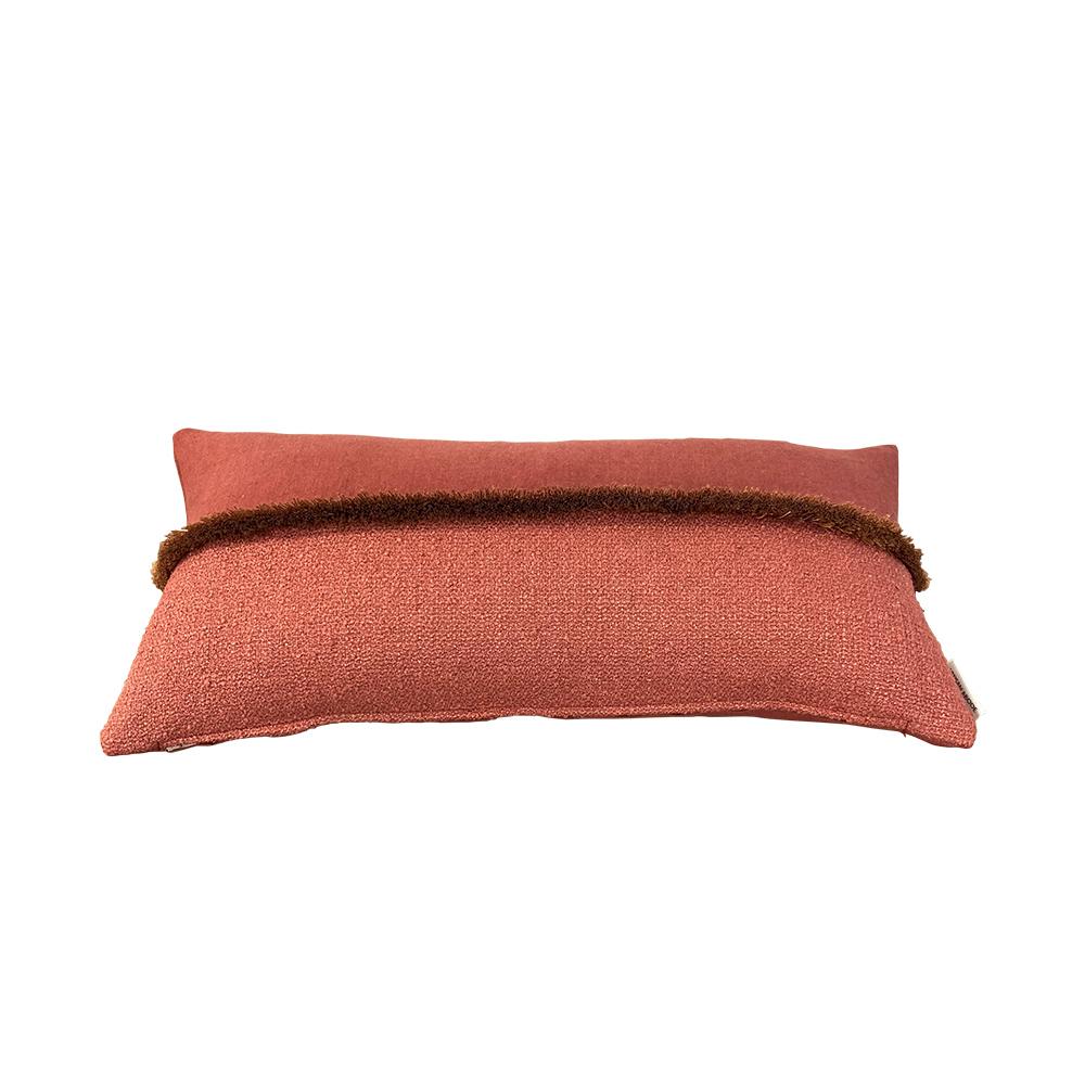 Derb Cushion Burnt Terracotta