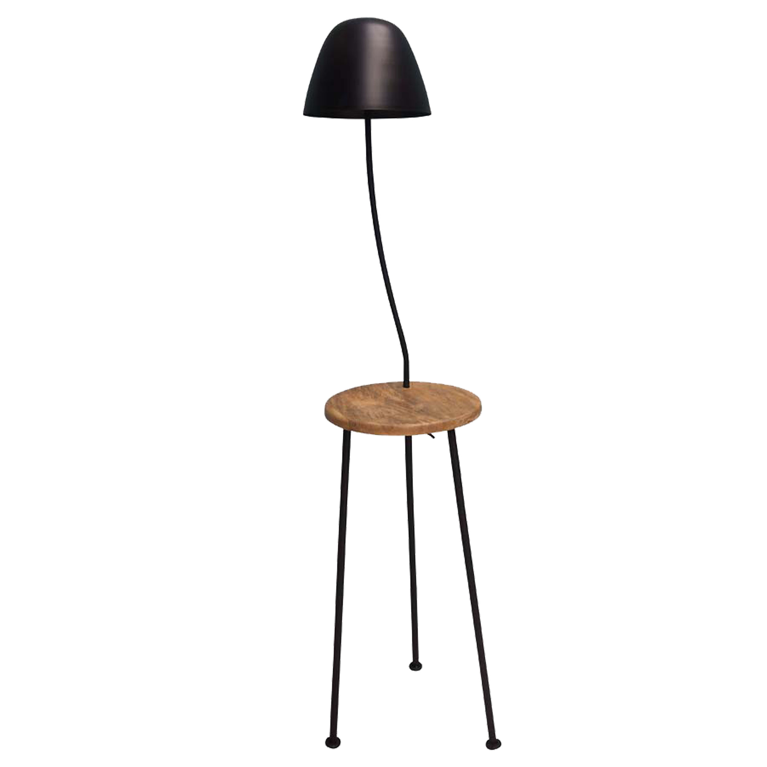 Hugo Floor Lamp with Side Table