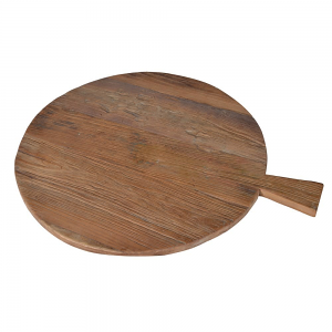 Recycled Wooden Bread Board - Round