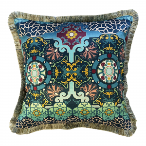 Ca' d'Oro Cushion 60 x 60 with Shoreline Ruche