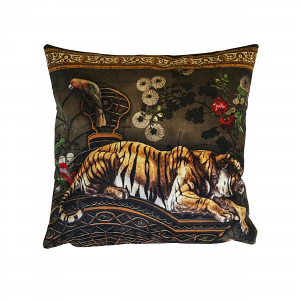 Cushion Tiger Monkey 40 x 40
