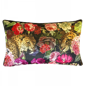 Cushion Flower Leopard 40 x 65