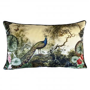 Cushion Peacock Garden 40 x 65