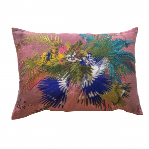 Christian Lacroix Oiseau Fleur Bourgean Cushion