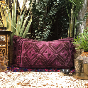 Nomad Floor Cushion in Violet