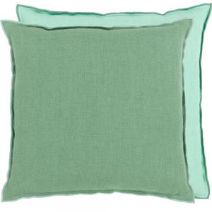 Brera Lino Thyme & Pale Jade Cushion