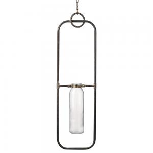 Flatiron Hanging Bud Vase - Large