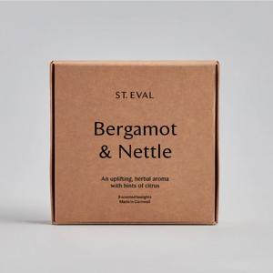 St Eval Bergamot & Nettle Tealights