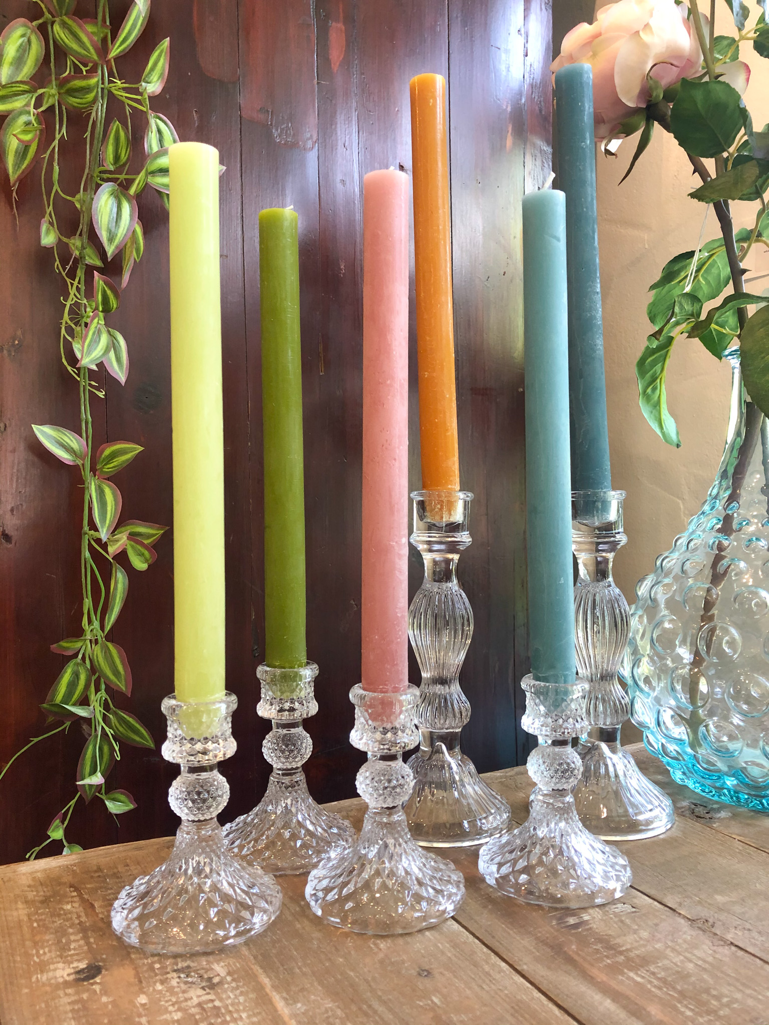 Hand Poured Dinner Candles – Pack of Six