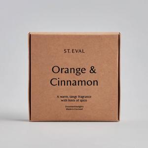 St Eval Orange & Cinnamon Tealights