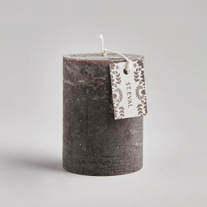St Eval Oak Scented Pillar Candle