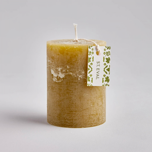 St Eval Moss Scented Pillar Candle