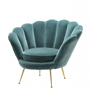 Chair Albergati Turquoise