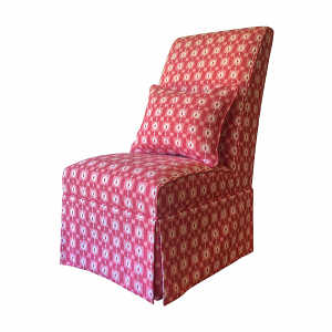 Clovelly Chair in Nina Campbell Ikat Check