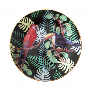 Tropical Dessert Plate Set – Box of Six