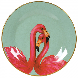 Wall Plate Flamingo