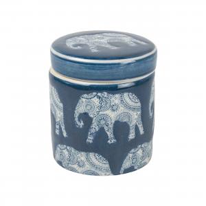 Elephant Trinket Pot