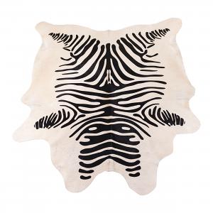 Cowhide Zebra Print