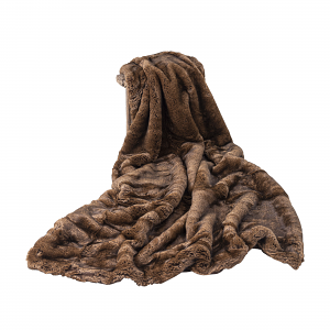 Faux Fur Throw Himalayan Nights