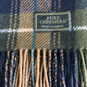 Forest Cashmere Throw