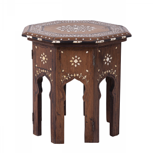 Antique Indian Octagonal Side Table