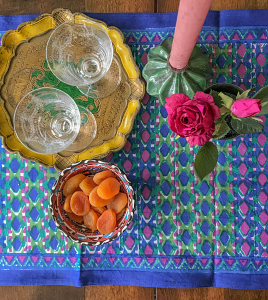 Tête-à-tête Table Runner Marrakech