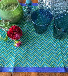 Tête-à-tête Table Runner Chevron