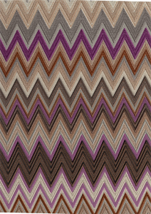 Missoni Home Zig Zag Multicolore Wallcovering