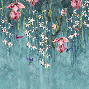 Osborne & Little Trailing Orchid Wallcovering